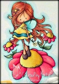 Girl Cartoon, Cute Cartoon, Cute Images, Cute Pictures, Tiddly Inks, Beautiful Flower Tattoos, Copic, Fairy Art, Doodle Drawings