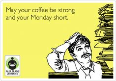 #Coffee makes mornings possible, right? ;) Happy Monday #FairTrade-rs! http://BeFair.org/ #FairMoms