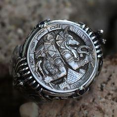 Jewelry Art, Jewelry Rings, Jewelery, Silver Jewelry, Jewelry Accessories, Jewelry Design, Silver Rings, Etsy Jewelry, Diamond Jewelry