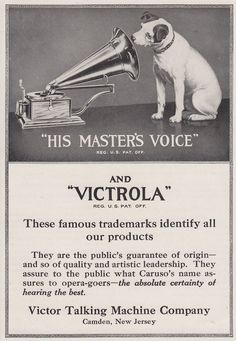 Items similar to 1920 Victor Dog Records Magazine Advertisement- 1920 Victor Phonograph Magazine Advertisement, Ads, vintage print ads, Dog Ads on Etsy Old Advertisements, Retro Advertising, Advertising Signs, Vintage Branding, Vintage Ads, Vintage Prints, Vintage India, Radios, Talking Machines