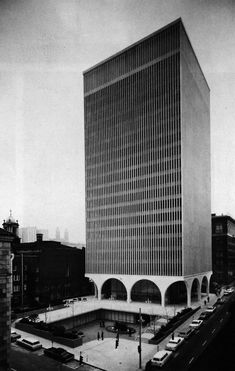 I.B.M. Office Building | 1963 | Seattle, Washington | Architect Minoru Yamasaki