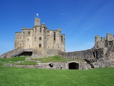 Warkworth Castle in Northumberland