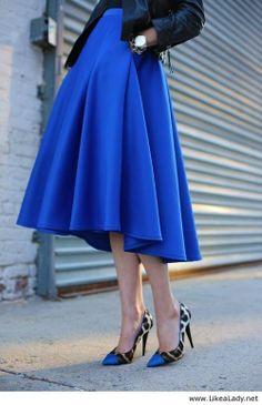 Cobalt Blue Skirt Stuart Weitzman Winter Typ Fall Winter Womens Shoes Cobalt