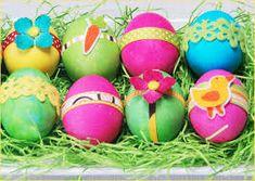 Resultado de imagen de easter eggs decoration