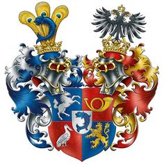 Family Crest, Crests, Coat Of Arms, Bowser, Symbols, Fantasy, Fictional Characters, Art, Figurine