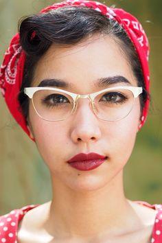A personal favorite from my Etsy shop https://www.etsy.com/listing/256343948/vintage-1960s-artcraft-eyeglass-cateye