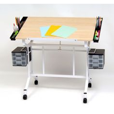 Pro Craft Station Standing Desk ($210) ❤ Liked On Polyvore Featuring Home,  Furniture