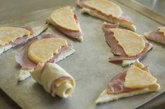 Crescent Roll Recipes - Ham and Cheese Crescent Rolls - Womans Day