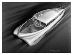 Dessertpin - Futuristic Industrial Design Show, 1944 / Aqua-Velvet Retro Futuristic, Futuristic Design, Futuristic Vehicles, Jurassic Park Ii, Art Deco, Future Car, Dieselpunk, Vintage Cars, Vintage Travel