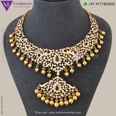Diamond Haram Designs by Vaibhav jewellers photo Diamond Haram Designs by Vaibhav jewellers photo Gold Jewellery Design, Silver Jewelry, Diamond Jewellery, Diamond Necklace Set, Gold Necklace, Metal Clay Jewelry, Necklace Designs, Wedding Jewelry, Wedding Accessories