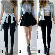 Outfits for teens, casual outfits, dress outfits, fashion outfits, womens. Teen Fashion Outfits, Girly Outfits, Cute Casual Outfits, Cute Fashion, Outfits For Teens, Pretty Outfits, Stylish Outfits, Fall Outfits, Dress Outfits