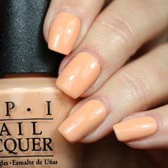 I'm Getting A Tan-gerine from the #OPIRetroSummer Collection 🍊🍊🍊 #nails #nailpolish #orange #orangenails #OPI