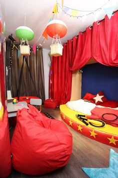 lappart tva dco une chambre denfant sur le thme du cirque - Chambre D Enfant De5 Ans