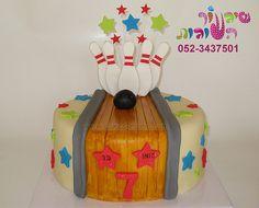 bowling cake by cakes-mania   עוגת באולינג מאת שיגעון העוגות - www.cakes-mania.com