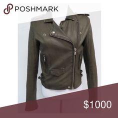 ISO Iro Asheville leather jacket ISO Iro Asheville leather jacket IRO Jackets & Coats
