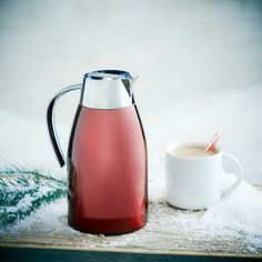 This is on my Christmas List ==> Starbucks® Stainless Steel Holiday Carafe. $39.95 at StarbucksStore.com