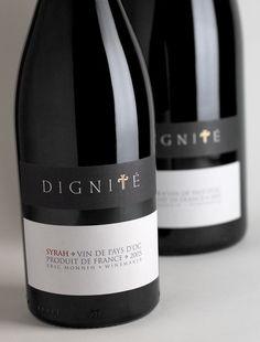 label / Dignité – Harpers Design Awards 2009 Bronze Medal / wine  #taninotanino #vinosmaximum