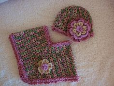 Ravelry: Project Gallery for Matching Poncho for 30 Minute hat pattern by Mary Ann Colatuno