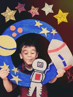 61 ideas outer space art projects for kids birthday parties