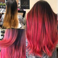 #hairstyle #włosy #salon #fryzjerlodz #fryzjer #pasja #klimczakhairdesigners #lodz #łódź #cut #włosy #salon #haircolor #hair #red #women #usmiech #poland #pasja #iamklimczakhair #color #sombre #ombre #pasja