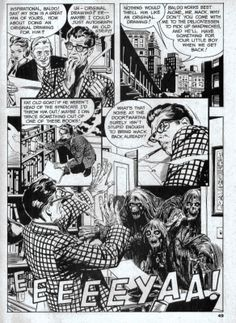 Al Williamson -- The Success Story. Great layout; powerful dimension with the lettering at the bottom.