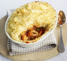 One portion of this delicious vegetarian shepherd's pie contains all 5 of your recommended 5-a-day intake
