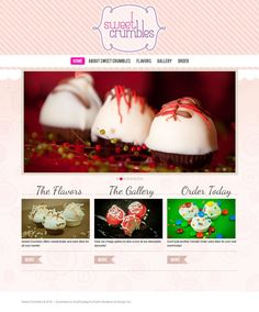 Sweet Crumbles Website | http://sweetcrumbles.com