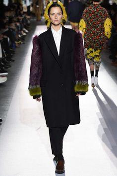 Dries Van Noten Fall 2017 Ready-to-Wear Fashion Show - Tasha Tilberg (OUI)