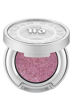 Loving this pink glitter Urban Decay eyeshadow.