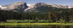 Estes Park, Colorado right near Rocky Mountain National Park
