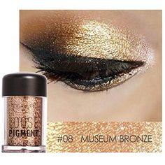 Qibest Eye Shadow Glitter Eyes Loose Powder Brighten 30 Colorful Women Party Metallic Shimmer Blue Eyeshadow Makeup Cosmetics 100% Original Eye Shadow