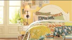 hawthorne yellow guest room - Google Search