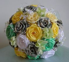Fairy Tale Money Bouquet Money & Origami Flower by JAYLIdesigns, $120.00
