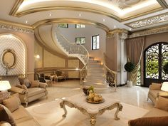 Private villa on Behance