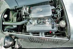Dave rebuilt the 350-cu.in. V-8 from the Monte Carlo using ''fuelie'' heads, a camshaft from a 300hp 327 and finned rocker arm covers from a Corvette. ''I built the engine with the goal of longer life rather than for performance,'' Dave said. ''And I used that camshaft because it has a broad enough torque curve for higher gears.'' Though they won't win him any drag races, the Saginaw three-speed manual transmission and the 2.30 gears in the rear axle turned out to be the ideal combination.