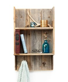 Look at this Rustic Bathroom Two-Tier Shelf on #zulily today!
