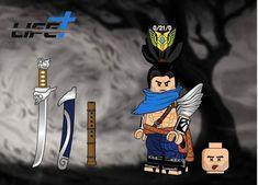 Knights of the Zodiac minifigure lego Custom PAD UV Printed BRICK minifigure