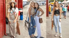 The Fashion Posse has captured the best fashion pieces from the Pendleton Roundup this past weekend! Let's take a look at some of them!