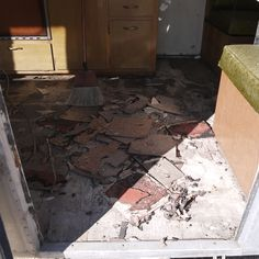 just found another before picture tiles are coming out.
