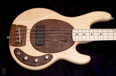 GV Guitars MM 434 bass... like the dark wood details, especially the bridge