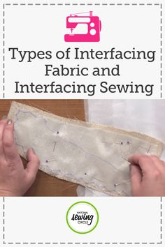 Beth Bradley teaches you about the various types of woven and nonwoven interfacing that can be fusible or non-fusible, and shows how to make the point of interfacing invisible. She also demonstrates how to cut the grain of the interfacing to match the fabric.