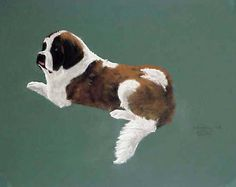 Gretchen when she was still with us. Pastel on rag board.