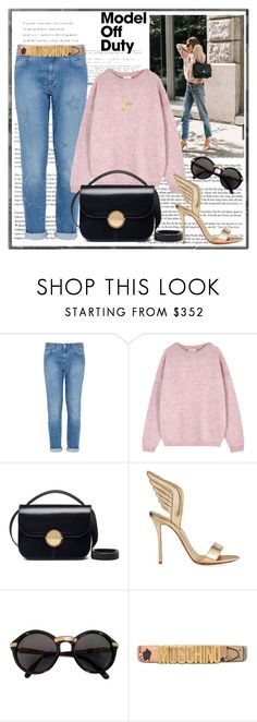 """Feel like a model"" by krista-zou on Polyvore featuring STELLA McCARTNEY, Acne Studios, Marni, Christian Louboutin, Cartier, Moschino, Bloomingdale's, modeloffduty, polyvorefashion and polyvorecontests"