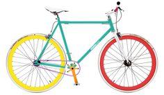 Glaceau vitaminwater Verlosung Singlespeed Bike