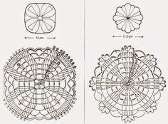 Crochet Art: Crochet Coasters Patterns