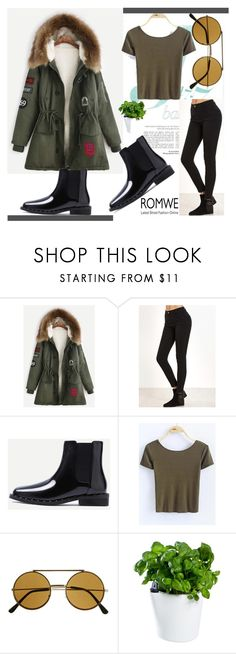 """""""& ROMWE & 7/IX"""" by nura-akane ❤ liked on Polyvore featuring Royal VKB"""