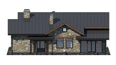 Красивый одноэтажный дом с оригинальным дизайном. Проект S-135 Architecture Design, House Plans, How To Plan, Mansions, House Styles, Projects, Home Decor, Baking, Houses