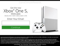 Get the new Xbox One S!