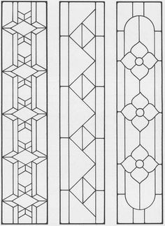 Sidelights, Fanlights and Transoms Stained Glass Pattern Book
