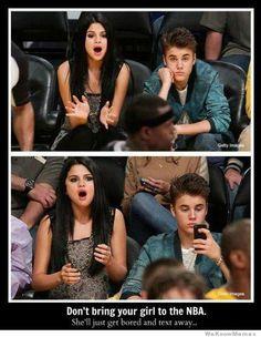 Girls hate basketball